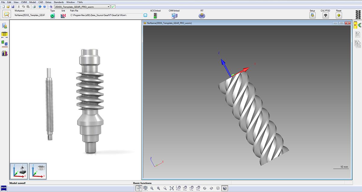 zeiss gear pro 歯車測定ソフトウェア